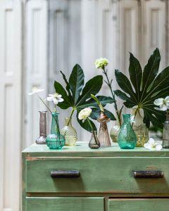 Hyacinth vase pink L WEL029