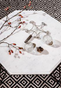 Star ornament tree top