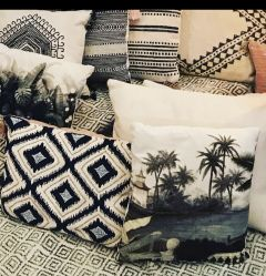 Cushion palmtree MP-1213