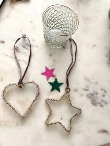 Heart silver wire EW-4055