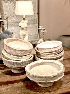 Paper-mache bowl