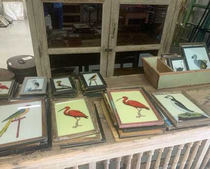 Glass paintings of the Weldaad Collection